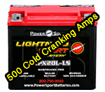 Power Source Lightning Start WPX20L-LS 12V, 20AH